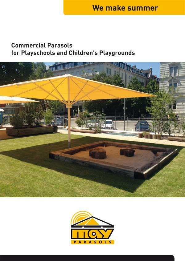 Premium Outdoor May saulessargu katalogs bērnu laukumiem un bērnu dārziem