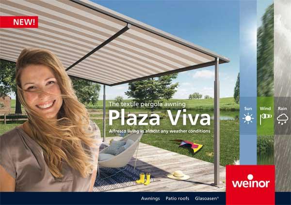 Premium Outdoor Weinor Plaza Viva nojumes
